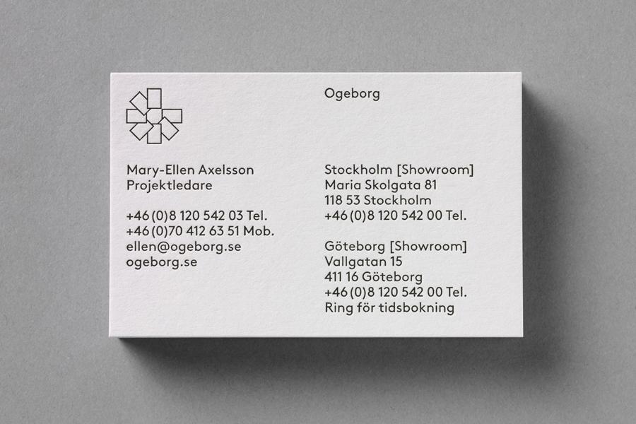 Ogeborg地毯品牌形象塑造 ,vi企业形象设计,名片设计