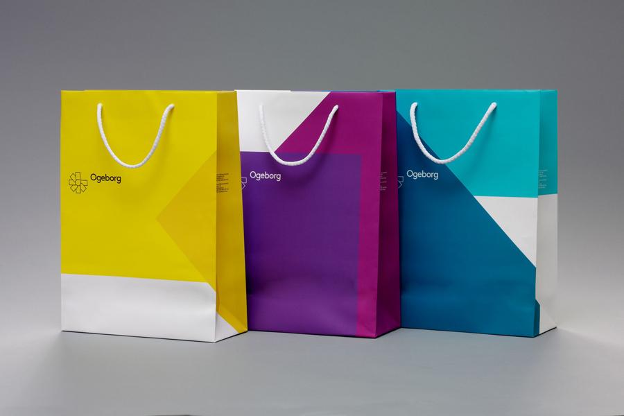 Ogeborg地毯品牌形象塑造 ,vi企业形象设计,纸袋设计