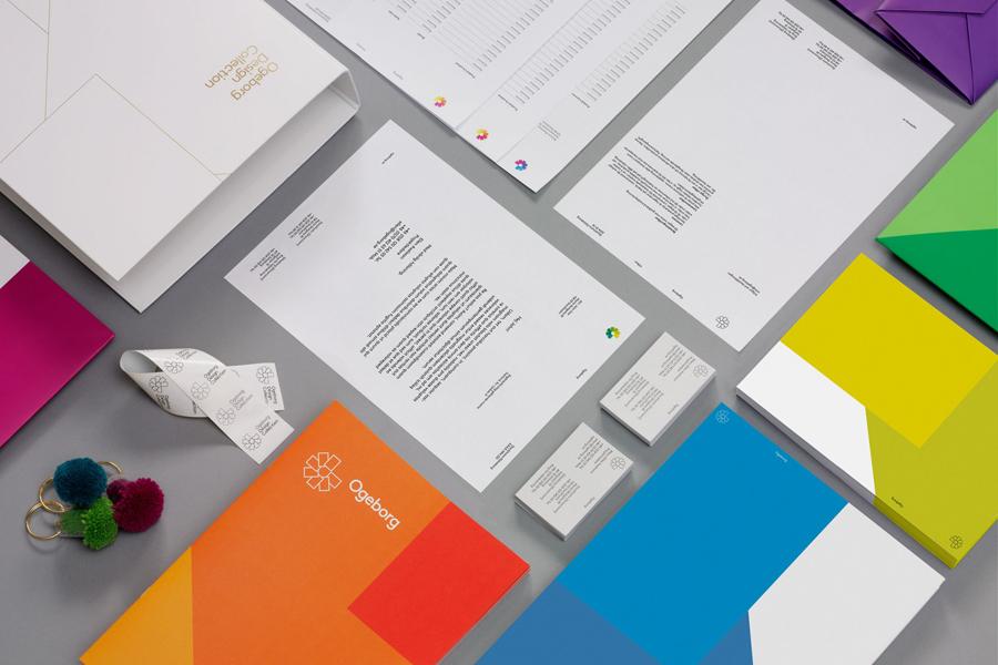 Ogeborg地毯品牌形象塑造 ,vi企业形象设计,办公应用设计