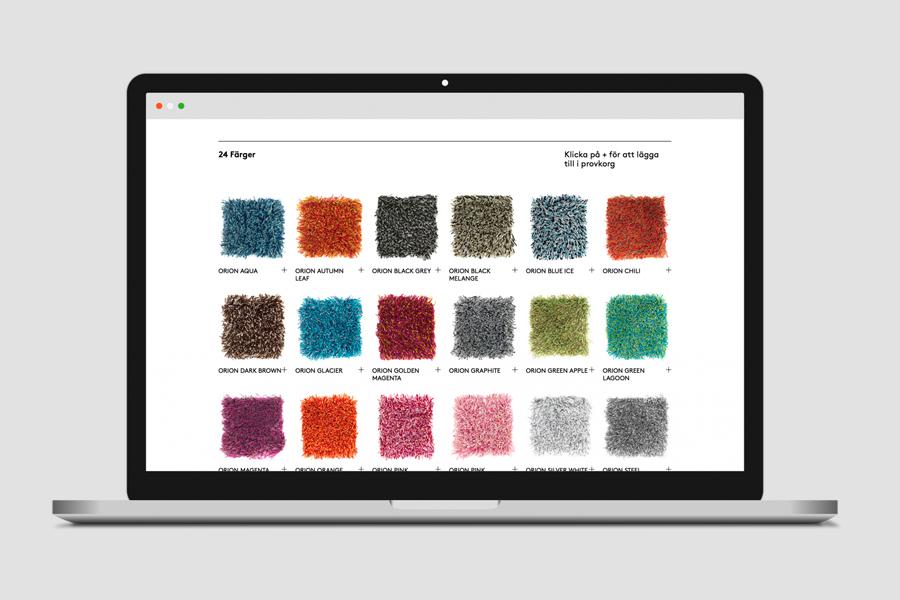 Ogeborg地毯品牌形象塑造 ,vi企业形象设计,公司网站设计