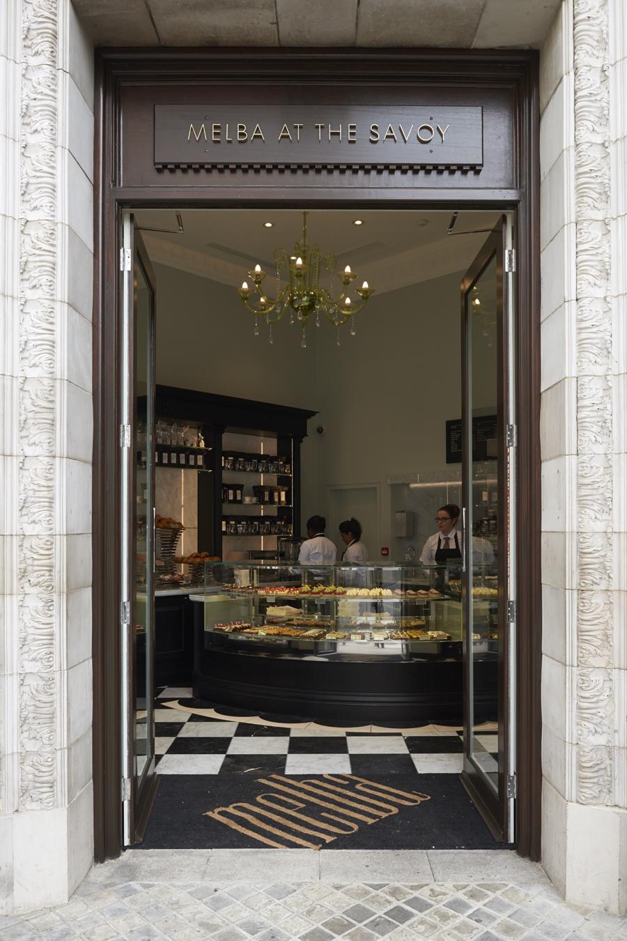 轻食咖啡馆Melba品牌形象策划,品牌形象设计,店面空间设计