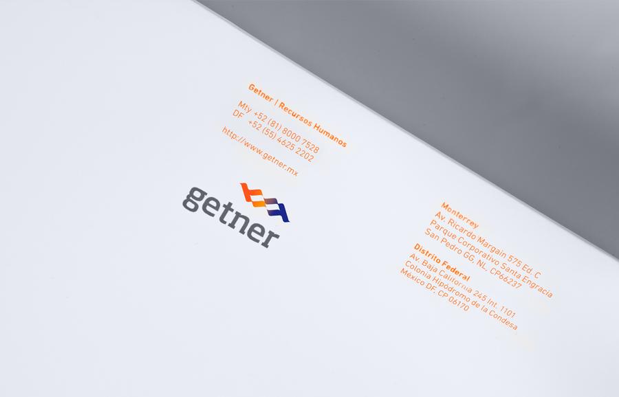 Getner咨询管理顾问品牌设计,名片设计