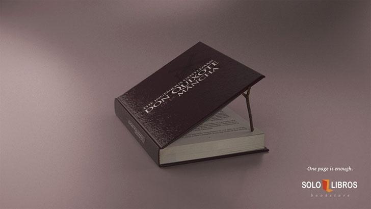 书店好看的海报设计,好书一页就足够了