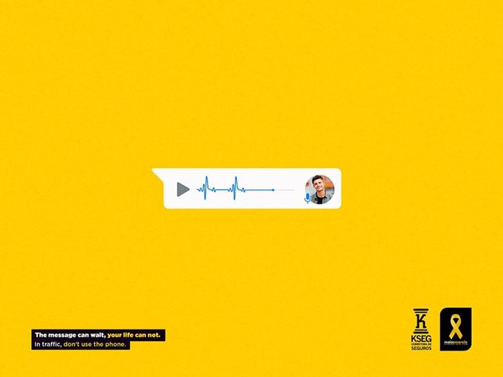 深圳海报设计:交通安全宣传极简海报设计