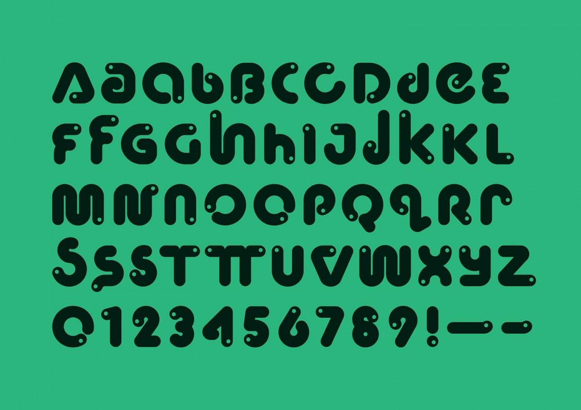 WeCompost城市垃圾分类处理公司品牌设计策划,字体设计