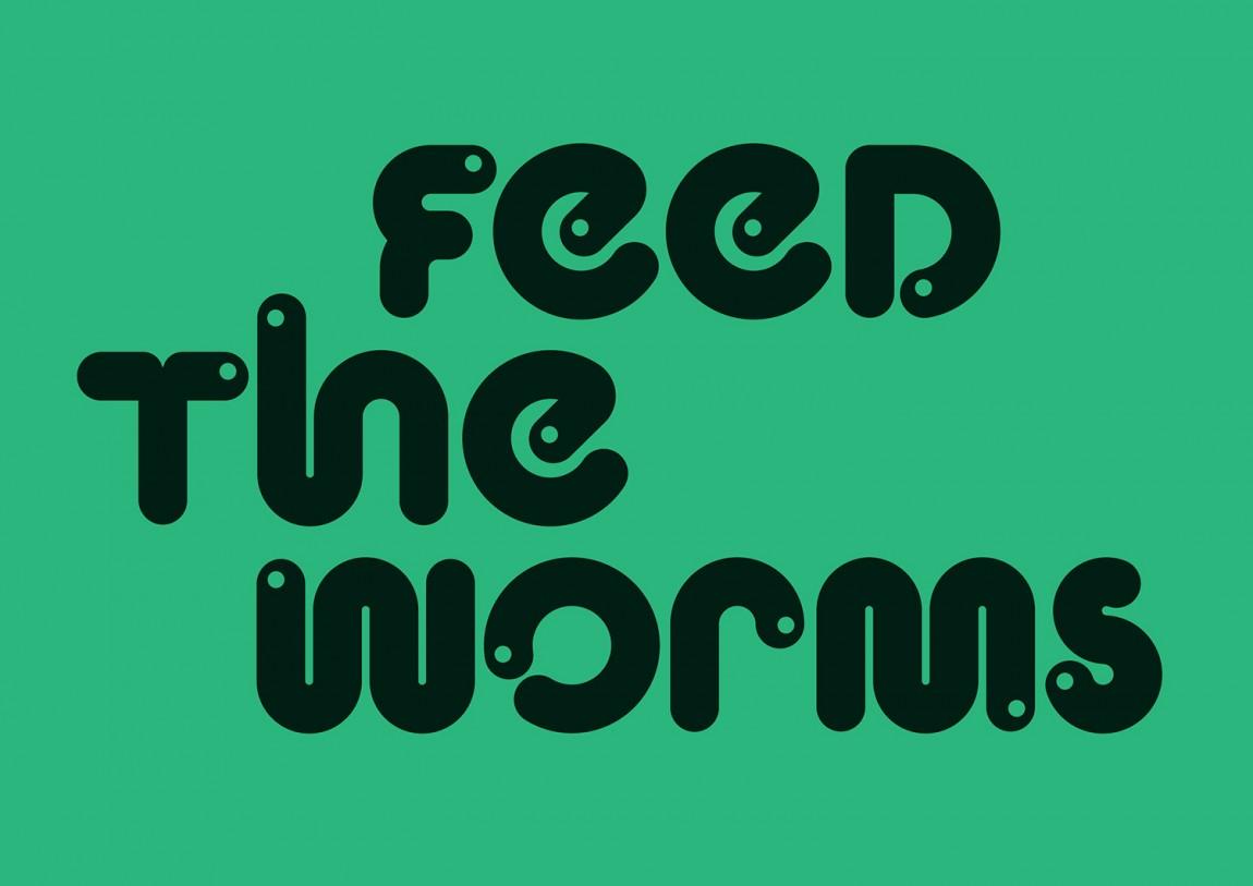 WeCompost城市垃圾分类处理公司品牌设计策划,文字标志设计
