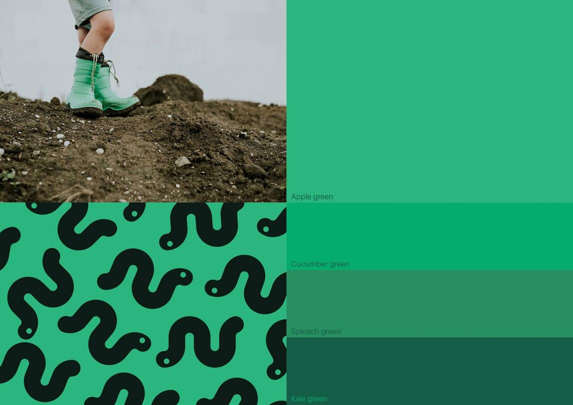 WeCompost城市垃圾分类处理公司品牌设计策划,品牌颜色