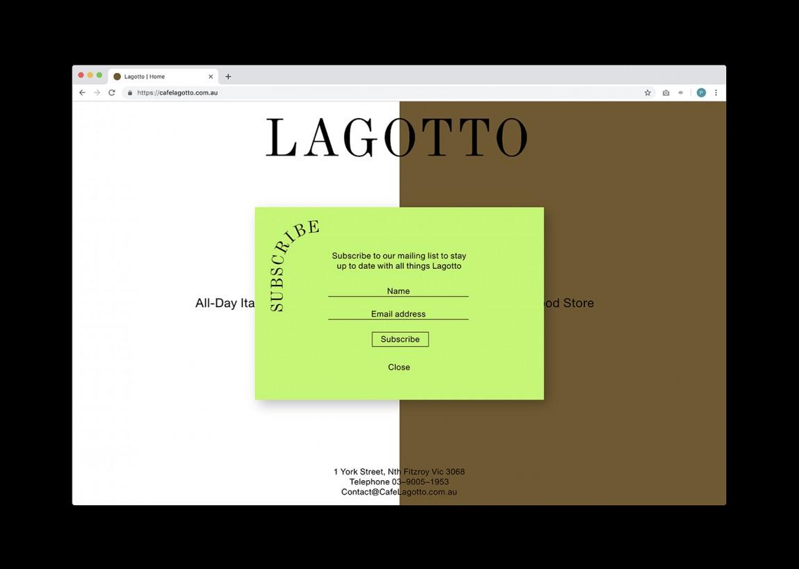 Lagotto特色餐饮品牌设计,网站设计