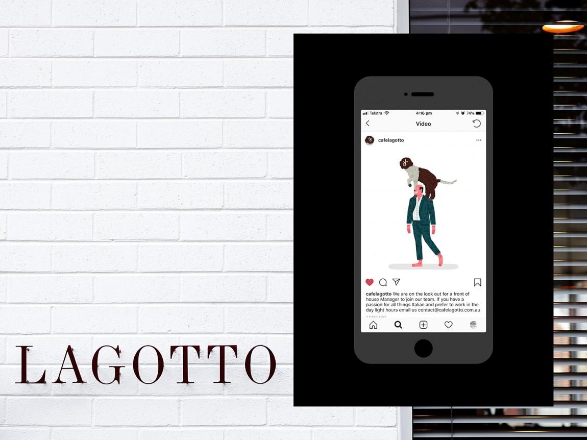 Lagotto特色餐饮品牌设计,微信设计