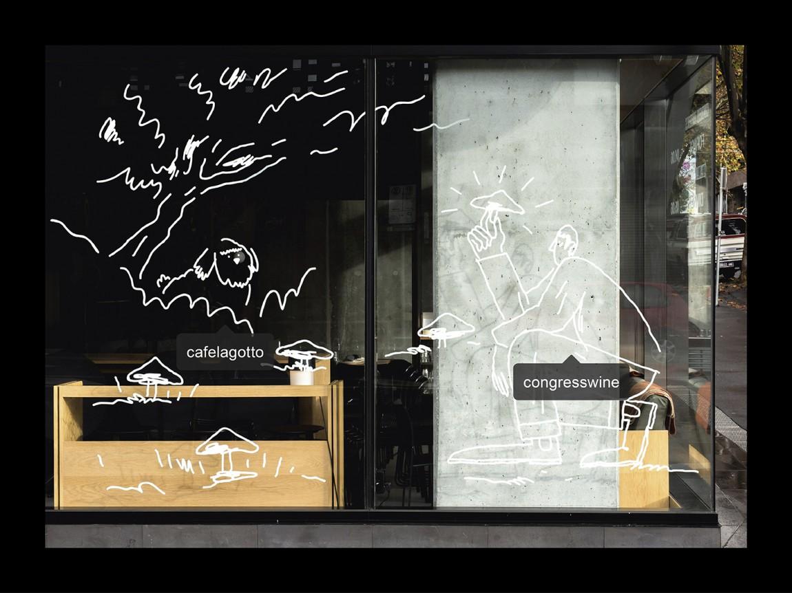 Lagotto特色餐饮品牌设计,环境导视设计