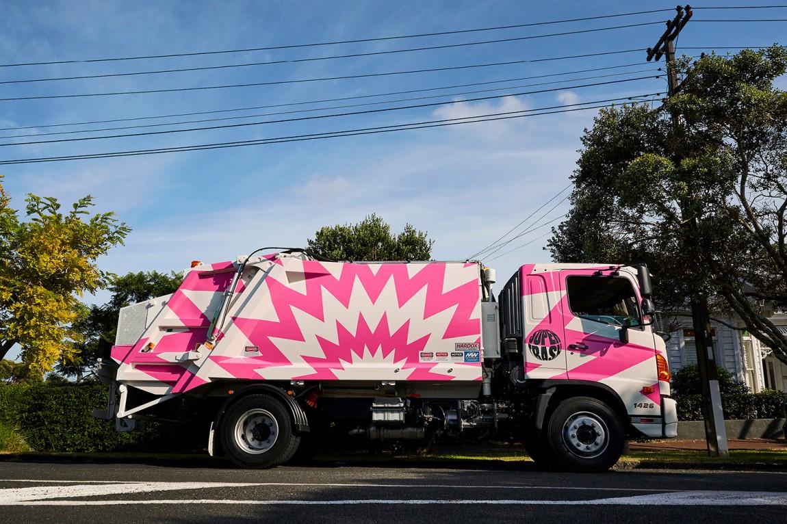 新西兰垃圾处理公司视觉vi设计
