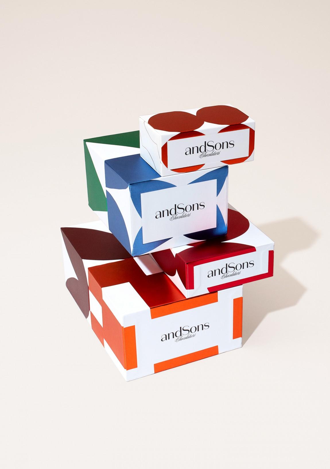 andSons视觉vi设计,logo设计,字体设计,包装设计