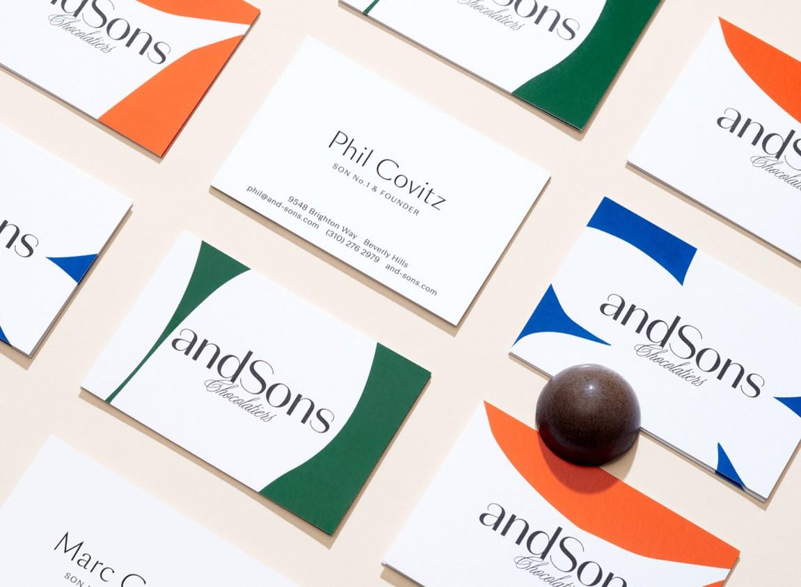 andSons视觉vi设计,logo设计,字体设计,名片设计