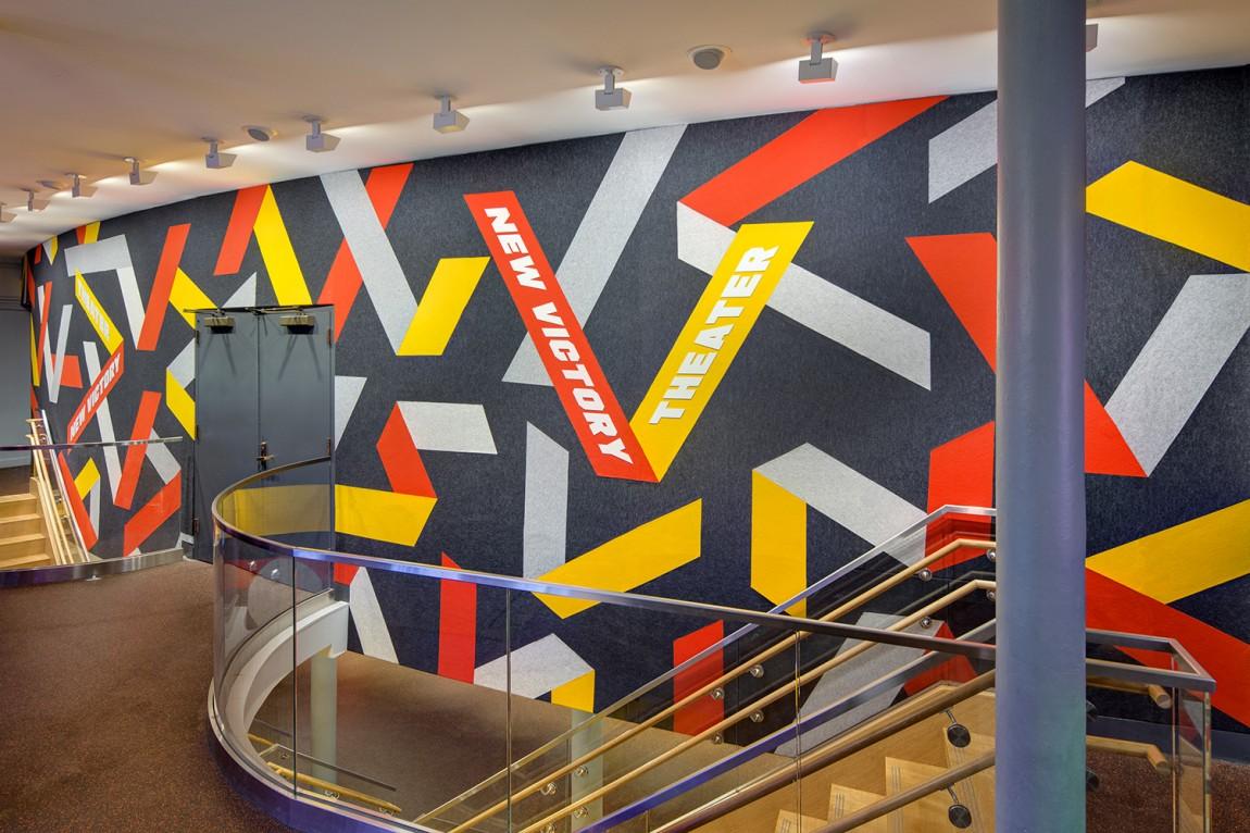 纽约新胜利剧院vi视觉设计方案,vi导视设计