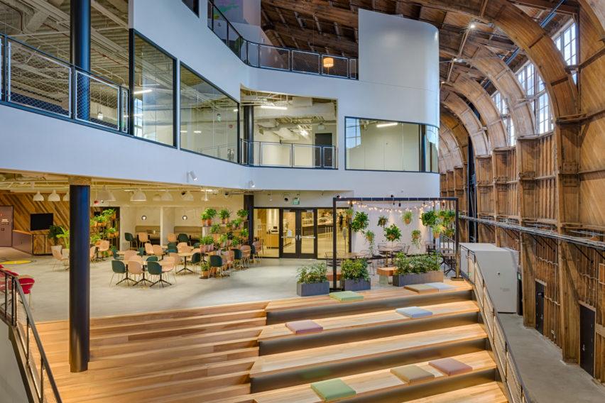 美国ZGF建筑事务谷歌办公空间装修设计方案