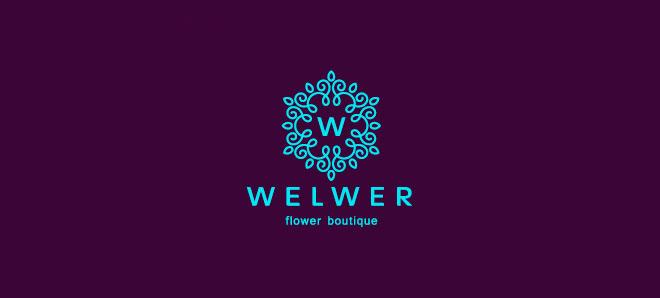 广州商标设计公司整理:花朵元素商标设计图案欣赏