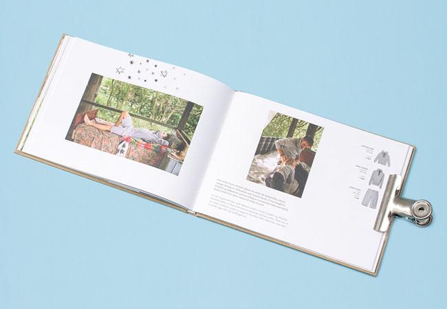 RISK时尚服饰简单画册设计
