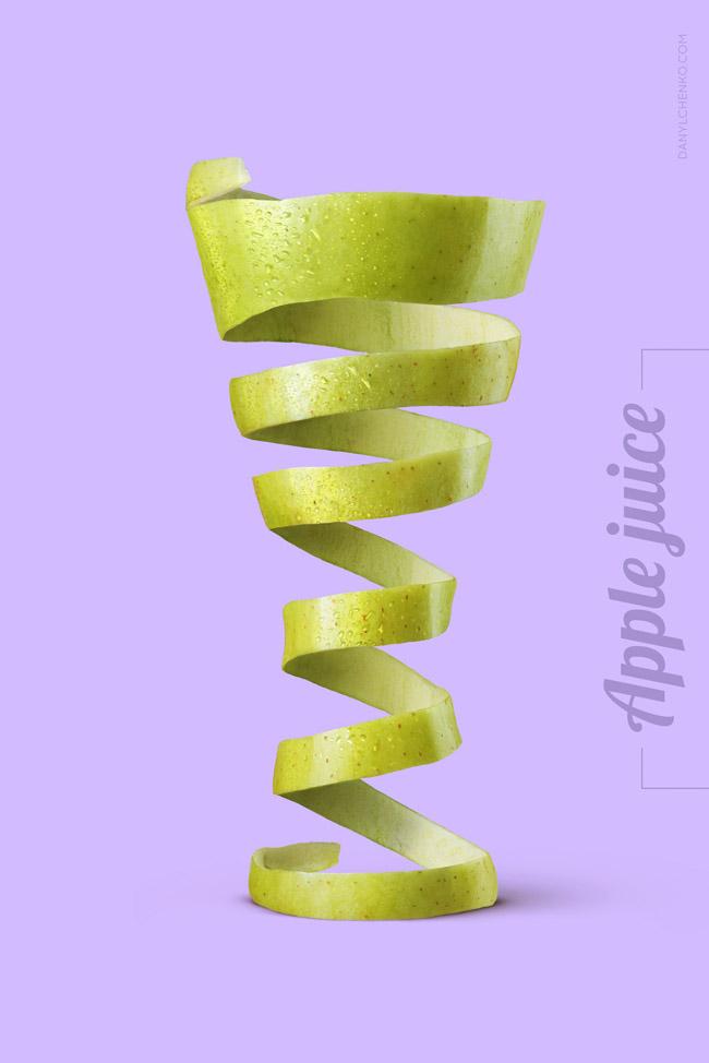 西安广告设计公司分享:天然水果饮料优秀广告设计