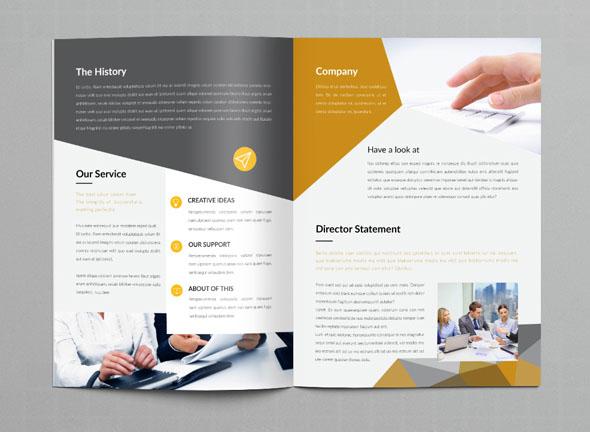 画册设计网站商务画册设计模版