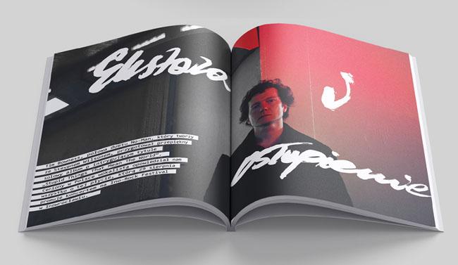 滚石摇滚音乐杂志好的画册设计