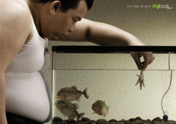 罗湖平面设计工作室整理:减肥系列海报设计