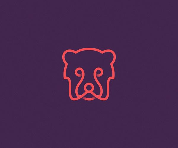 天津标志设计公司整理:22个线描动物简约标志logo设计