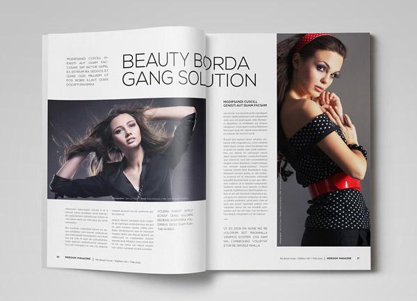 成都画册设计公司分享:印尼时尚杂志创意画册设计
