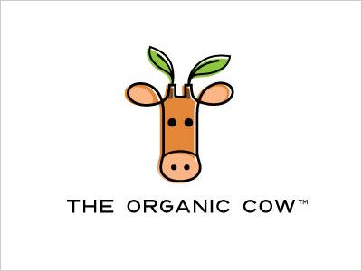 温州商标设计公司推荐:26个奶牛简洁商标设计