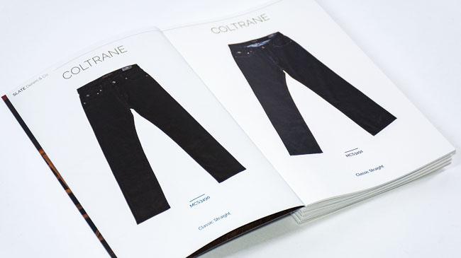 福州画册设计公司分享:牛仔裤产品画册设计