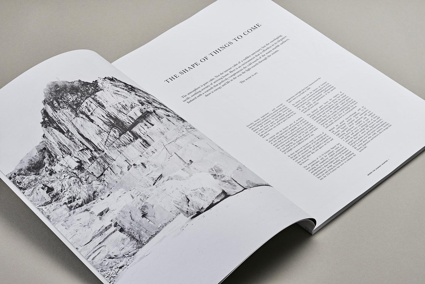 大理石瓷砖公司画册设计欣赏,大气国际化