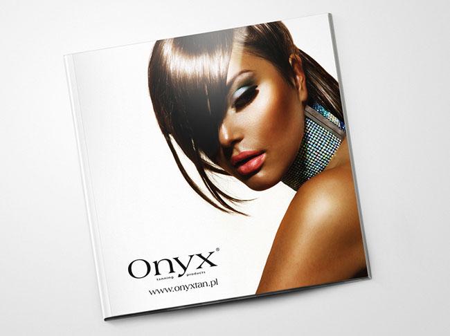 济南画册设计公司推荐:简洁ONYX护肤品画册设计案例