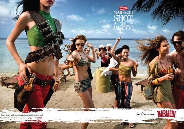 东莞平面设计工作室整理:啤酒广告海报设计