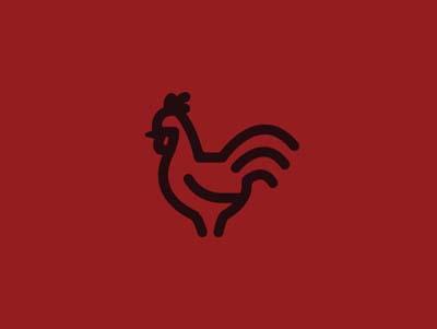 珠海标志设计公司分享:公鸡图形著名标志设计