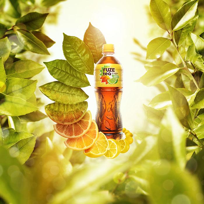 上海广告设计公司整理:红茶饮料广告设计