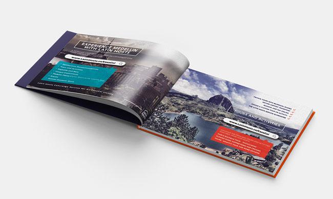 Casacol公司宣传画册设计,独树一帜