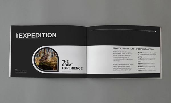 国际画册设计:黑白风格摄影画册设计