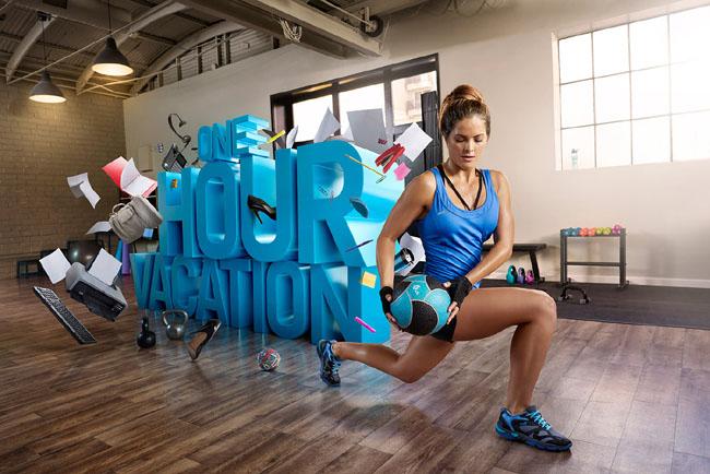 东莞广告设计公司整理:运动品牌数码国外广告设计