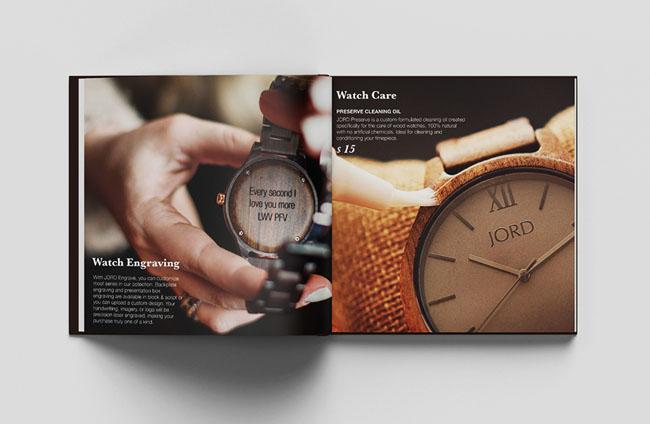 深圳画册设计推荐:时尚名表企业画册设计
