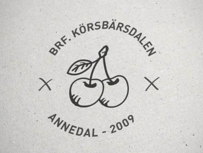 北京标志设计公司分享:樱桃元素企业标志设计