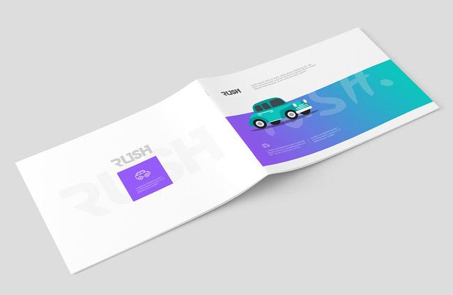 北京的画册设计公司分享:小汽车宣传册设计欣赏