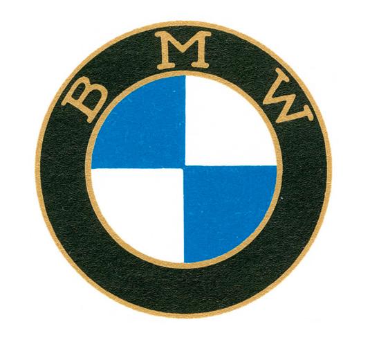 揭开宝马汽车标志设计/logo设计的密码