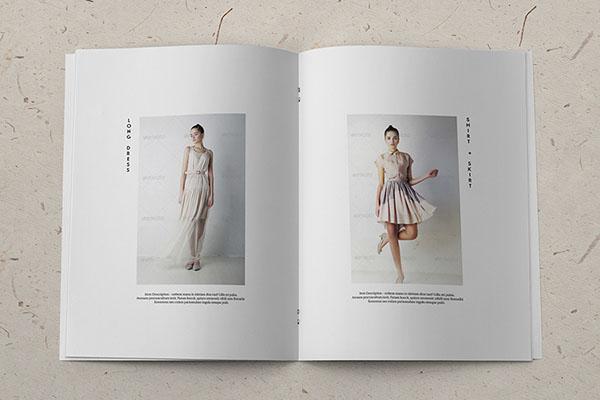 温州画册设计公司分享:时尚简约风格的画册设计