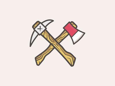 深圳标识设计公司分享:斧头元素品牌标识设计
