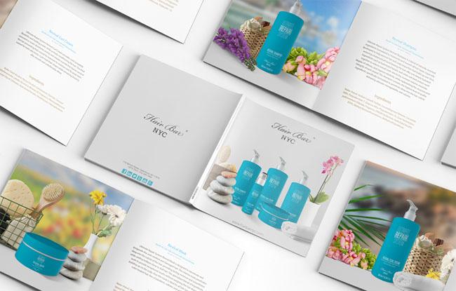 上海画册设计公司分享:NYC洗发水护理产品画册设计欣赏