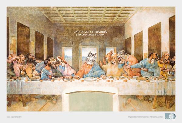 罗湖广告公司整理:28个狗狗主题商业广告设计