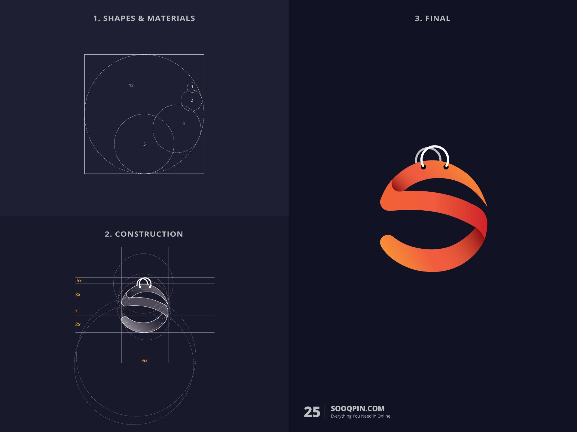 北京logo设计公司整理:黄金分割简约logo设计