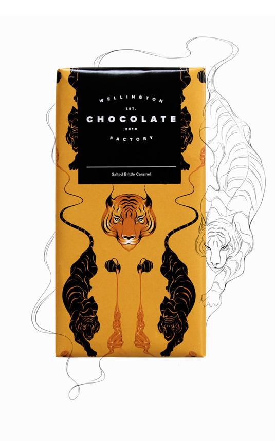 巧克力vi设计理念,品牌设计创意,品牌设计案例