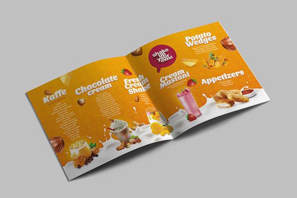 厦门画册设计公司分享:咖啡馆甜品产品画册设计欣赏