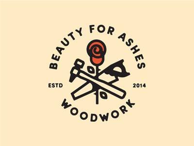 惠州标志设计公司分享:玫瑰花图形形象标志设计