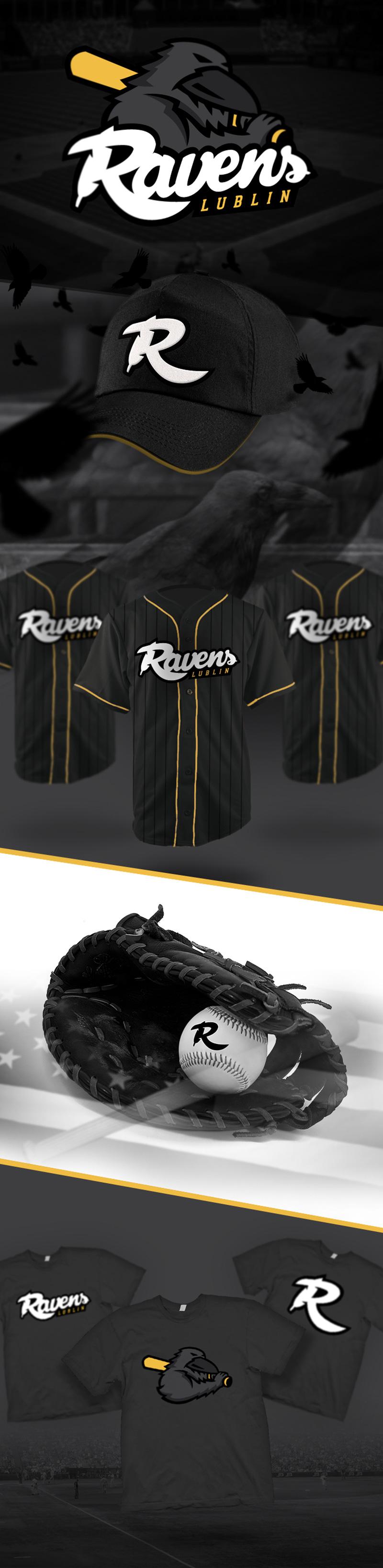 品牌商标设计公司整理:棒球队体育简单商标设计